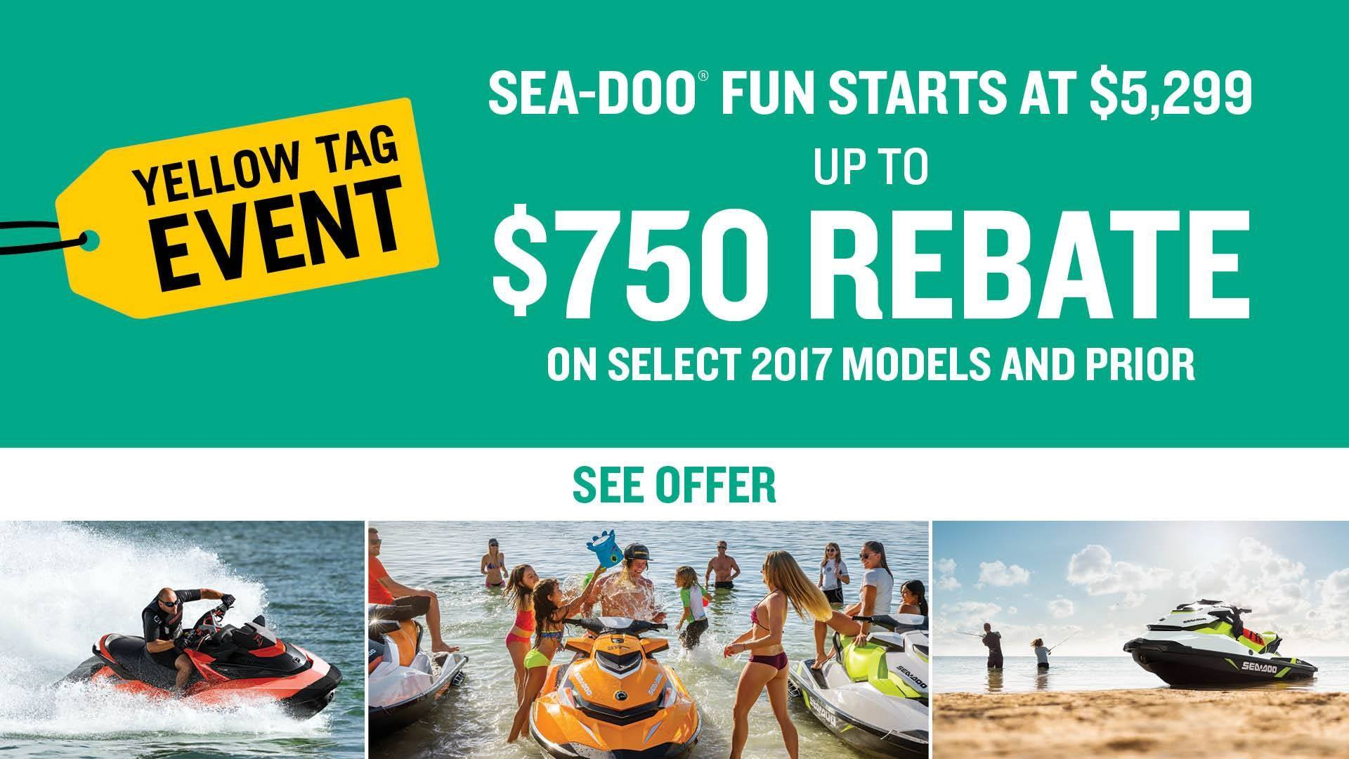 Sea-Doo - Yellow Tag Event